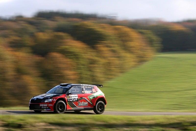 Vincent Verschueren & Veronique Hostens - Skoda Fabia R5 - Condroz Rally 2017