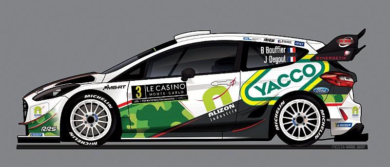 Bryan Bouffier - Ford Fiesta WRC
