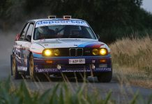 Ypres Historic Rally 2018 - BMW M3