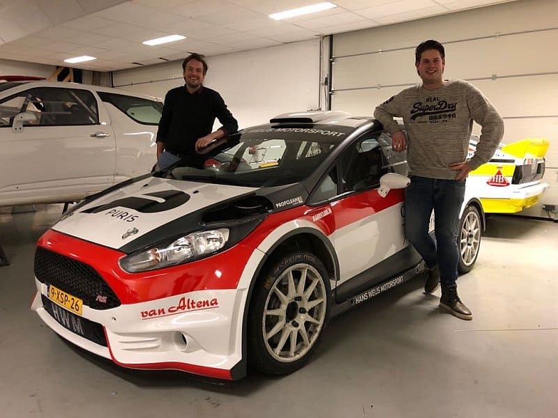 Cally Weijs & Niek Oude Luttikhuis - Ford Fiesta R5 - Circuit Shortrally 2018