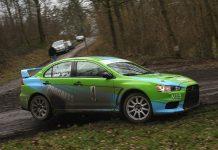 Roel van der Zanden & Ilse van de Sande - Mitsubishi Lancer Evo X