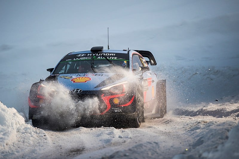 Thierry Neuville & Nioclas Gilsoul - Hyundai i20 WRC- Rally van Zweden 2018