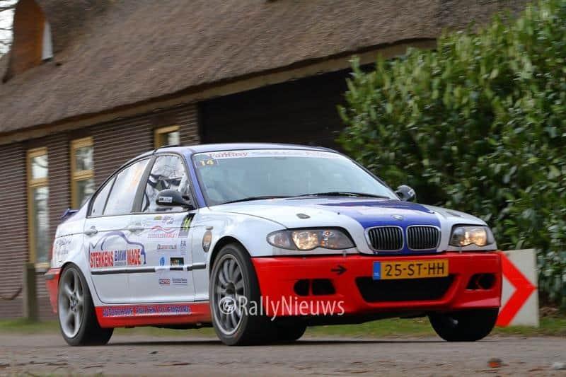 Wim Muilwijk & Nadia Muilwijk - BMW M3 - Zuiderzeerally 2018