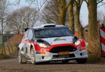 Hans Weijs en Hans van Goor - Ford Fiesta R5 - Zuiderzeerally 2018