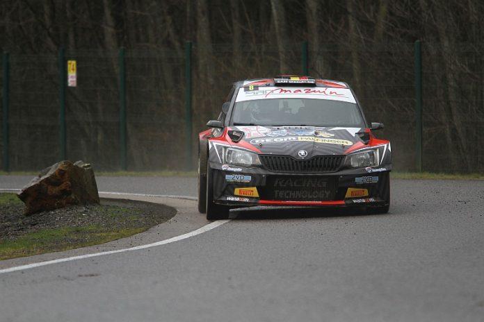 Adrian Fernemont - Skoda Fabia R5 - Spa Rally 2018