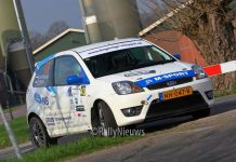 Martin van Brussel & Gijs Boom - Ford Fiesta ST150 - Visual Art Rally 2018
