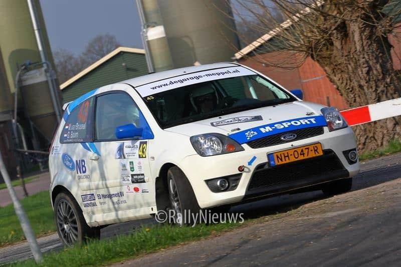 Martin van Brussel & Gijs Boom - Ford Fiesta ST150 - Visual Art Rally 2018