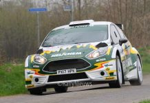 Henk Vossen & Johan Findhammer - Ford Fiesta R5 - Visual Art Rally 2018