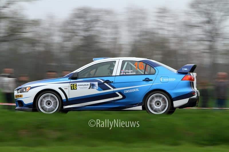 Jeroen van Beugen & Bart Woolderink - Mitsubishi Lancer Evo X - Visual Art Rally 2018