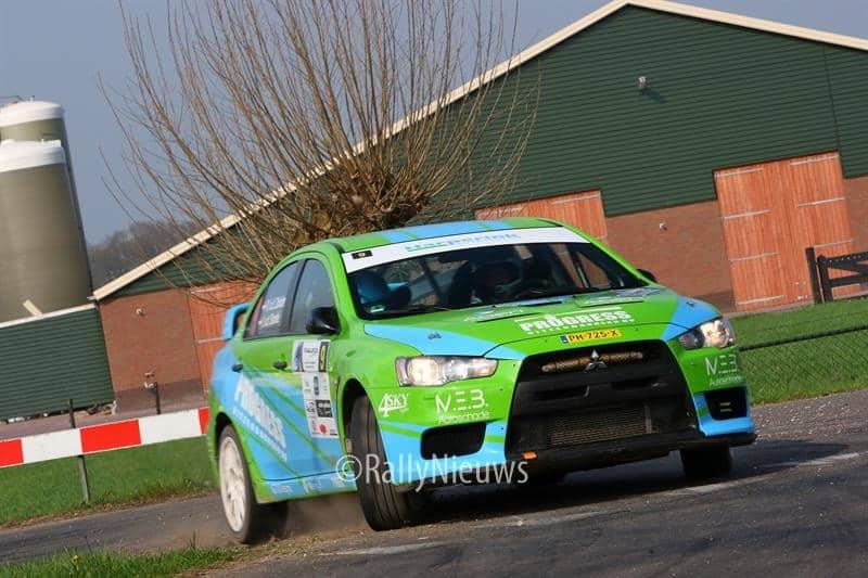 Roel van der Zanden & Ilse van de Sande - Mitsubishi Lancer Evo X - Visual Art Rally 2018