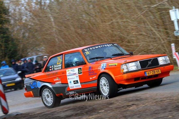 Pierre Brouwer & Paul Helmink - Volvo 204 Turbo - Zuiderzeerally 2018