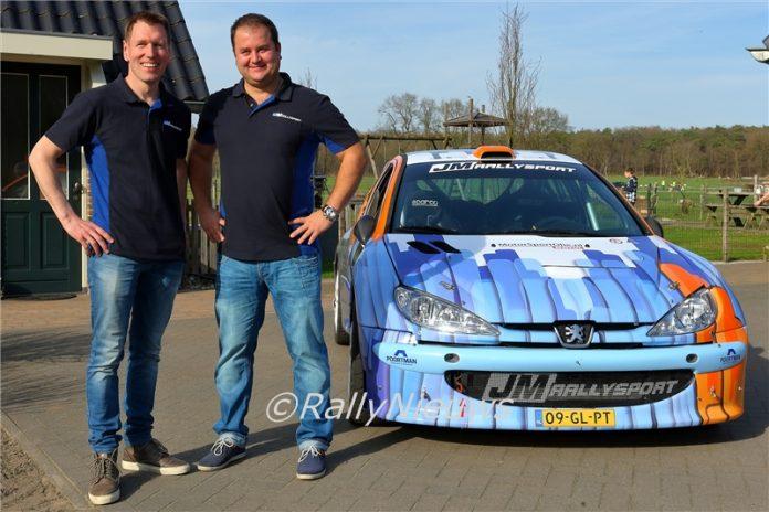 Jan Poortman & Alex Eisenberg - Peugeot 206 S1600 - 2018