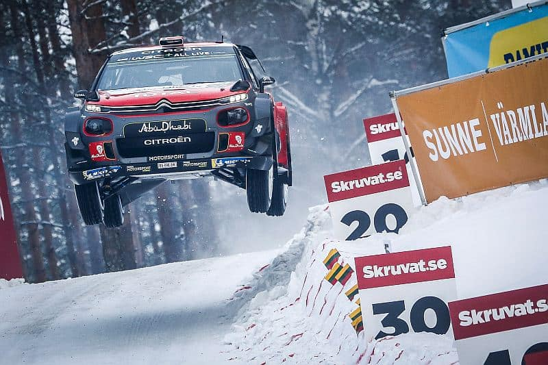 Mads Ostberg - Citroen C3 WRC - Rally van Zweden 2018