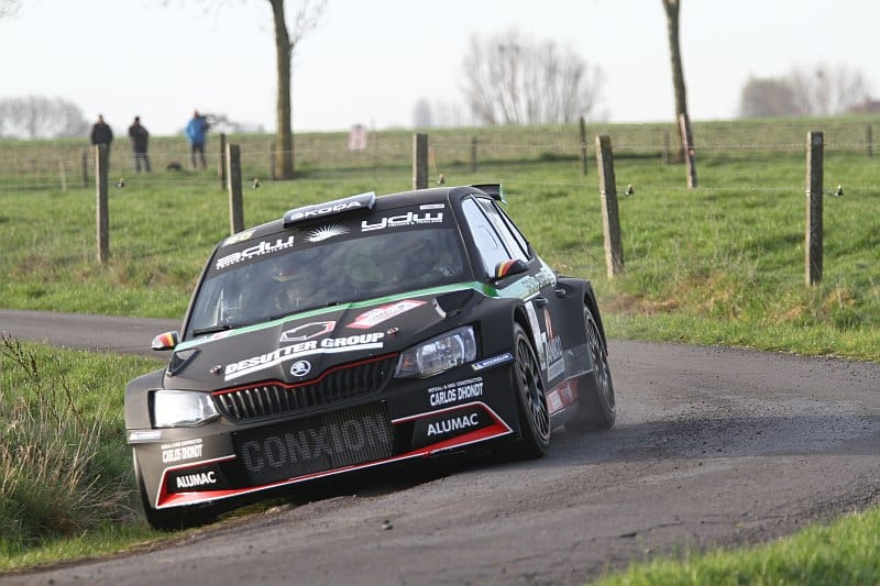 Vincent Verschueren & Veronique Hostens - Skoda Fabia R5 - TAC Rally 2018