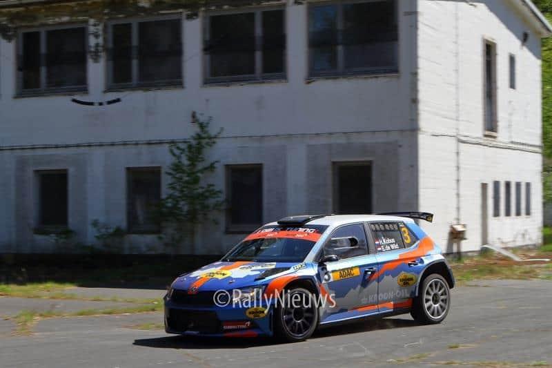 Hermen Kobus & Erik de Wild - Skoda Fabia R5 - ADAC Rallye Sulingen 2018