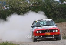 Mats van den Brand & Martijn Wydaeghe - BMW M3 - Sezoensrally 2018