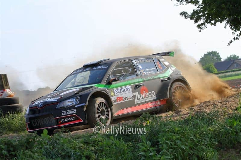 Vincent Verschueren & Veronique Hostens - Skoda Fabia R5 - Sezoensrally 2018