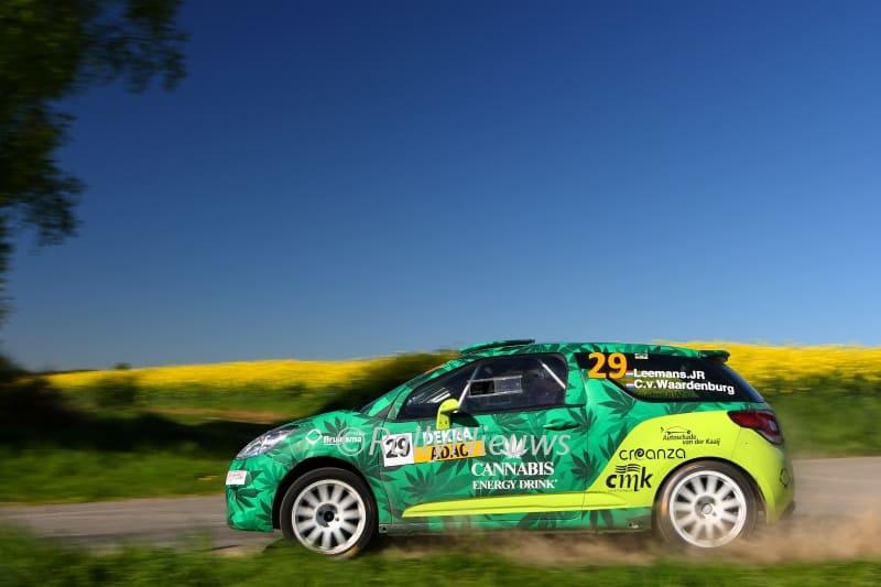 Roald Leemans & Christiaan Paul van Waardenburg - Citroën DS3 R3T - ADAC Rallye Sulingen 2018