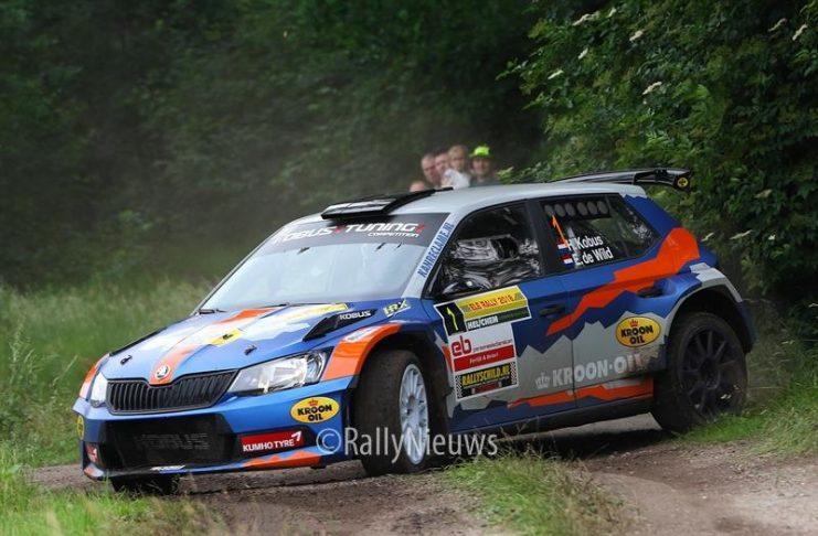 Hermen Kobus & Erik de Wild - Skoda Fabia R5 - ELE Rally 2018