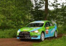 Roel van der Zanden & Ilse van de Sande - Mitsubishi Lancer Evo X - ELE Rally 2018