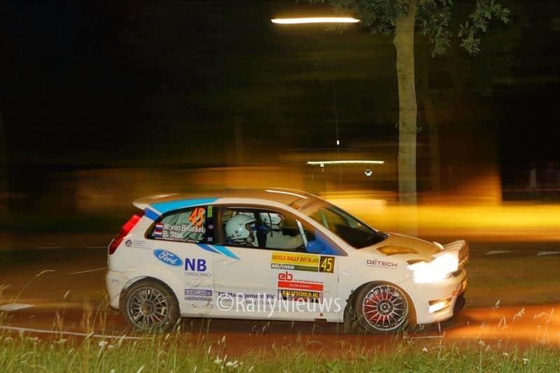 Martin van Brussel & Bart Stax - Ford Fiesta ST150 - ELE Rally 2018
