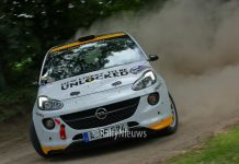 Timo van der Marel & Rebecca van der Marel - Opel Adam R2 - Vechtdalrally 2018