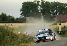 Cedric Cherain & Filip Cuvelier - Skoda Fabia R5 - Ypres Rally 2018