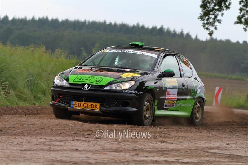 Geert ter Harmsel & Jan Kamphuis - Peugeot 206 - ELE Shortrally 2018