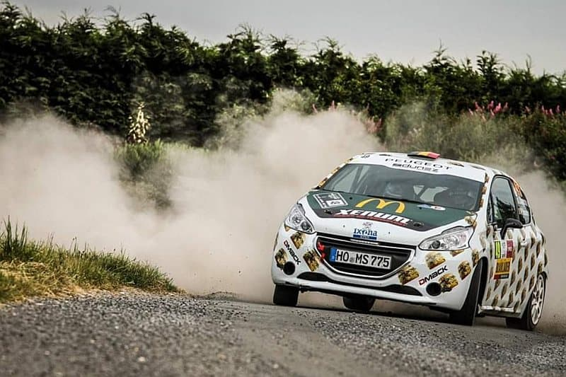 Joachim Wagemans & Ward Hanssens - Peugeot 208 R2 - Ypres Rally 2018