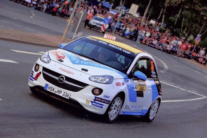 Martin Menzing & Peter van Teunenbroek - Opel Adam - ADAC Rallye Stemweder Berg