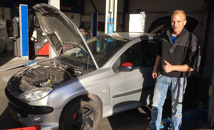 Mathijs Elsinga - Peugeot 206 - 2018