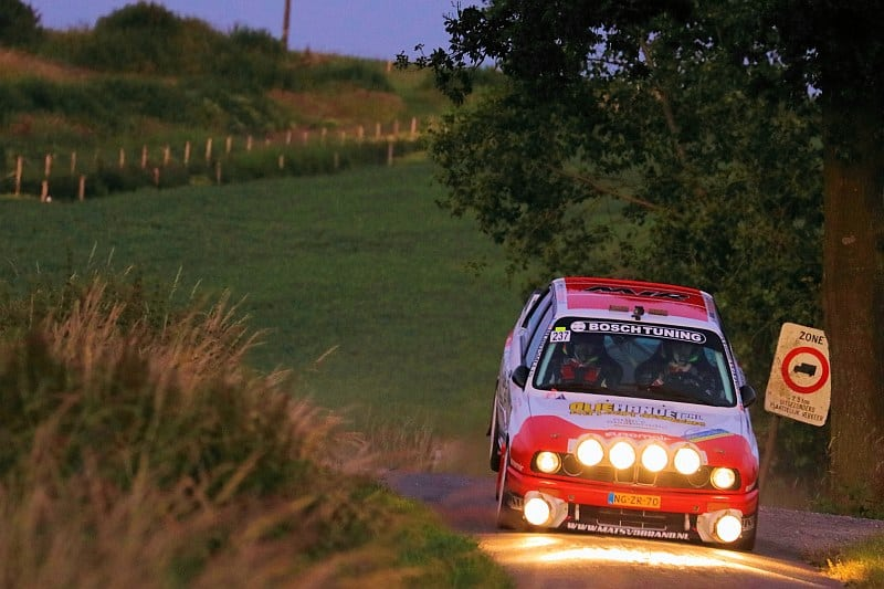 Mats van den Brand & Eddy Smeets - BMW M3 - Ypres Rally 2018