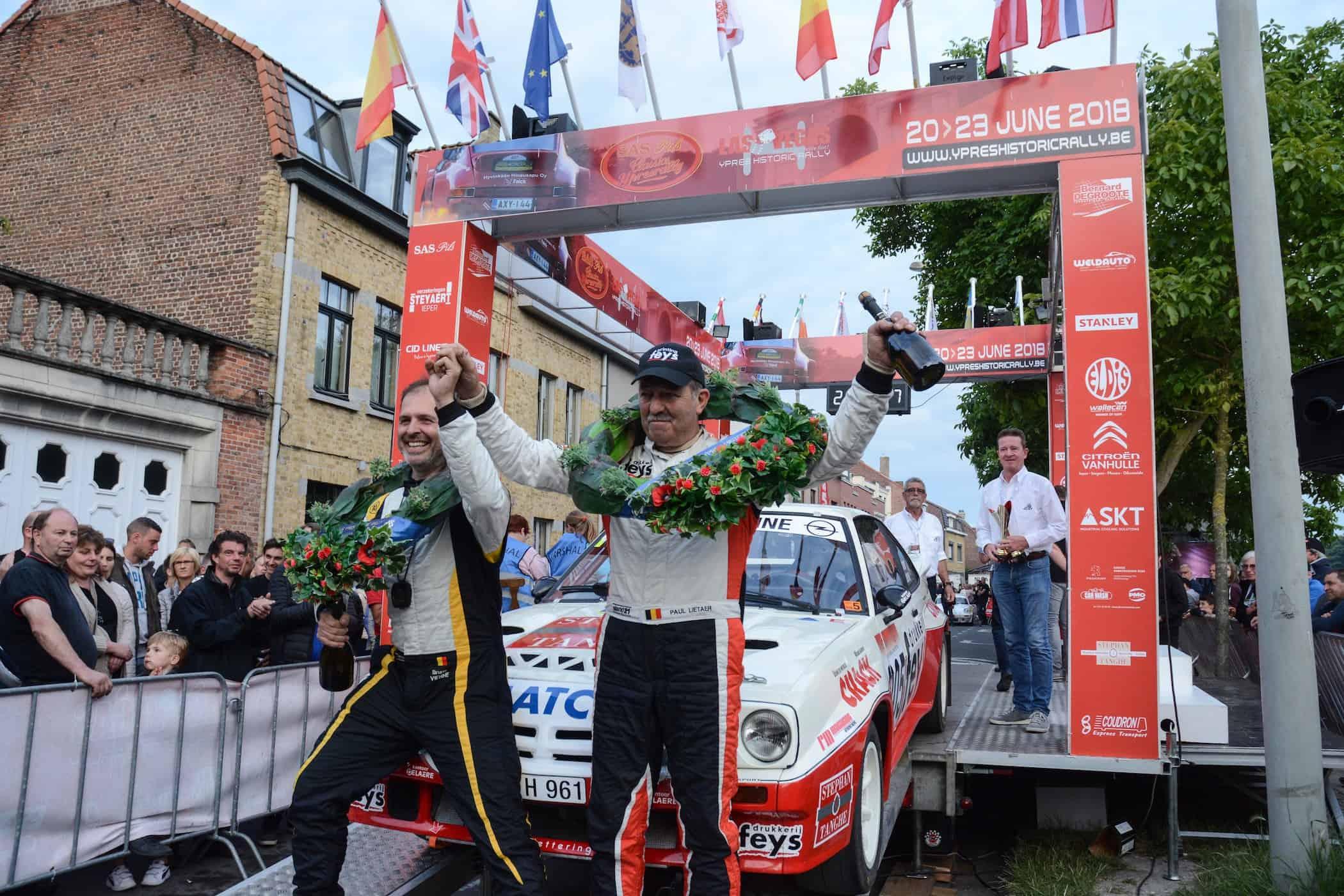 Paul Lietaer - Opel Manta 400 - Ypres Rally 2018