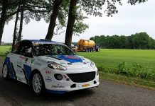 Rick Lubberding & Mark Kuipers - Opel Adam - Vechtdalrally 2018