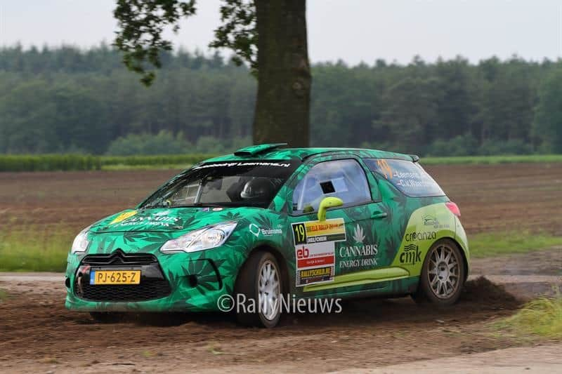 Roald Leemans & Christiaan Paul van Waardenburg - Citroen DS3 R3T - ELE Rally 2018