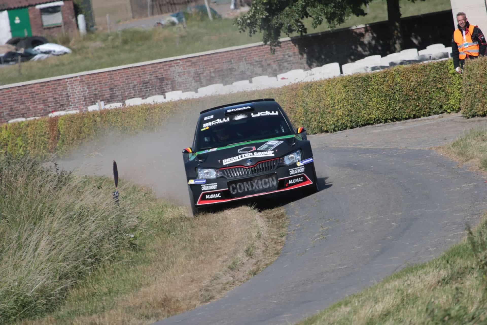 Vincent Verschueren & Veronique Hostens - Skoda Fabia R5 - Ypres Rally 2018