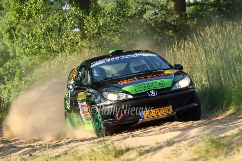 Geert ter Harmsel & Jan Kamphuis - Peugeot 206 - ELE Rally 2017