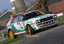 Jef van Hooft & Edith Gevers - Lancia Delta - Visual Art Rally 2018