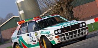 Jef van Hooft & Edith Gevers - Lancia Delta - Visual Art Rally 2018