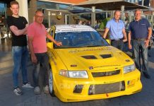 Rally Team Leemans - Mitsubishi Lancer Evo VI - GTC Rally