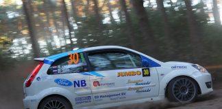 Martin van Brussel & Bart Stax - Ford Fiesta ST150 - GTC Rally 2018