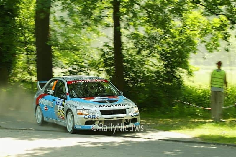 Peter Bijvelds - Mitsubishi Lancer Evo VII - ELE Rally 2006