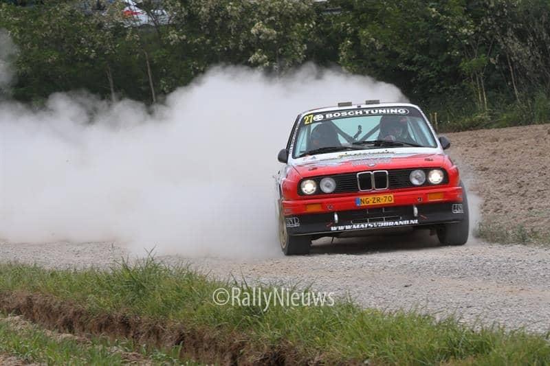 Mats van den Brand & Eddy Smeets - BMW M3 - Sezoensrally 2018