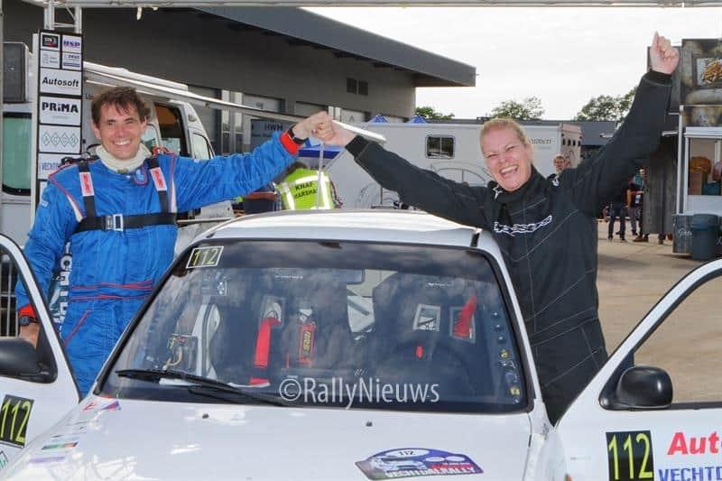 Marjan Post & Jos Huibers - Nissan Micra - Vechtdalrally 2018