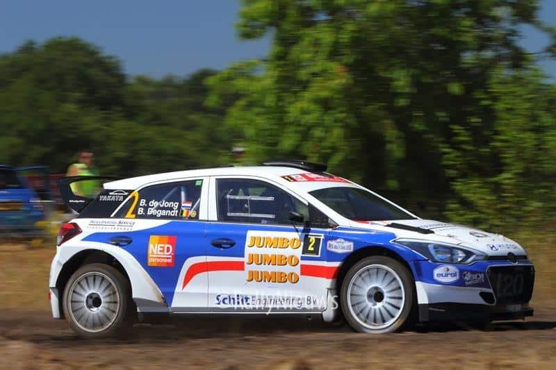 Bob de Jong & Bjorn Degandt - Hyundai i20 R5 - GTC Rally 2018