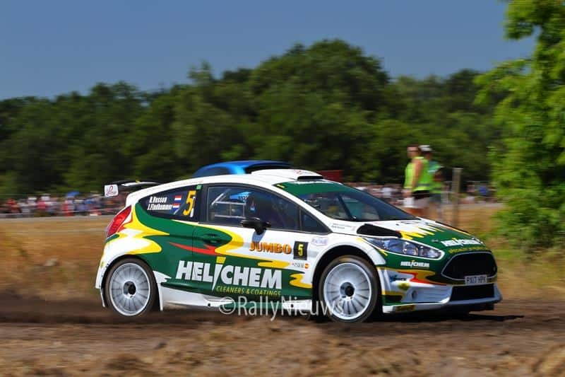 Henk Vossen & Johan Findhammer - Ford Fiesta R5 - GTC Rally 2018