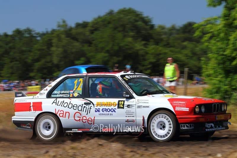 Mats van den Brand & Eddy Smeets - BMW M3 - GTC Rally 2018