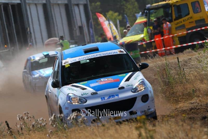 Rick Lubberding & Mark Kuipers - Opel Adam - Jumbo Shortrally 2018