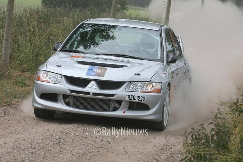 Peter Bijvelds - Mitsubishi Lancer Evo VIII - ELE Rally 2009