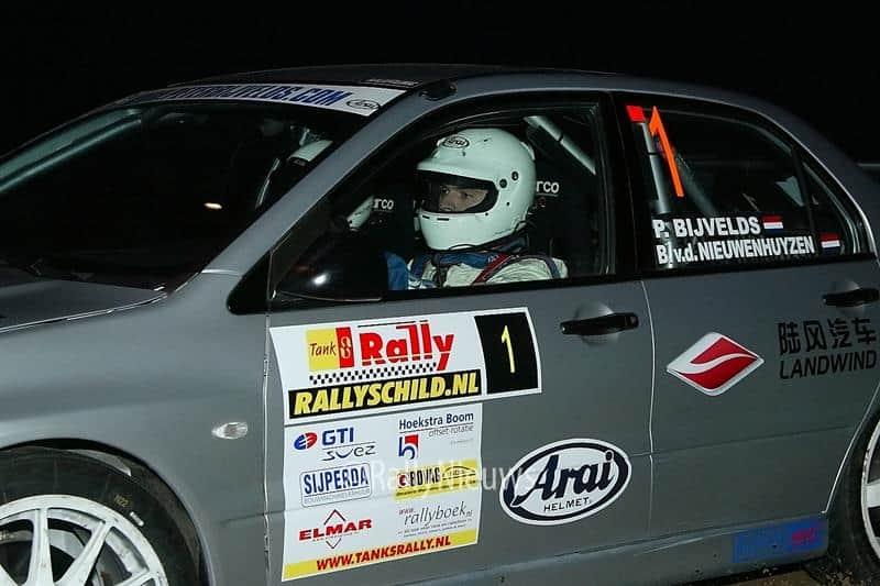 Peter bijvelds - Mitsubishi Lancer Evo VII - TankS Rally 2006